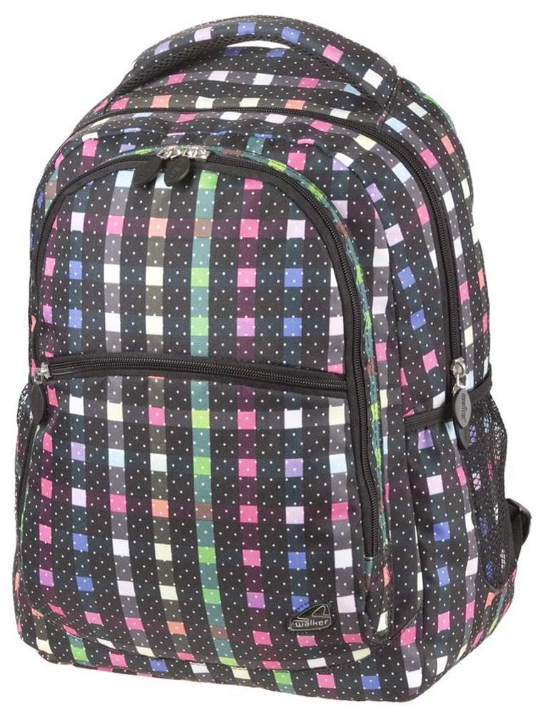Walker Школьный ранец Classic42264/116Уплотненная спинка и лямки помогают лучше распределить нагрузку и сохранить форму рюкзака независимо от его наполнения.