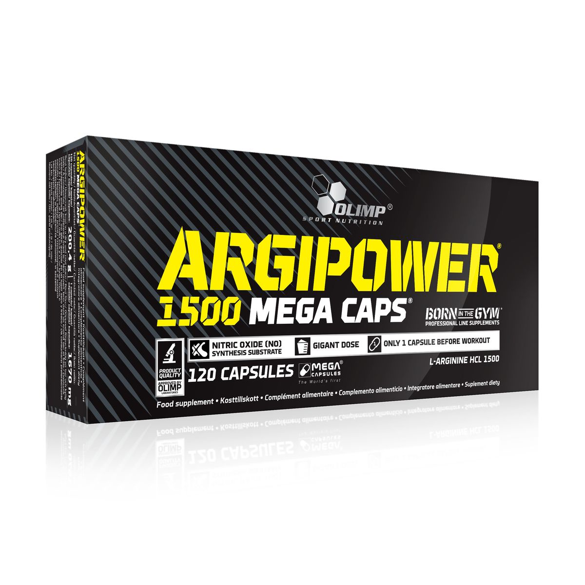 Аминокислотный комплекс Olimp Sport Nutrition ARGI POWER Mega Caps 1500, 120 капсул креатин olimp sport nutrition mega caps 120 капсул