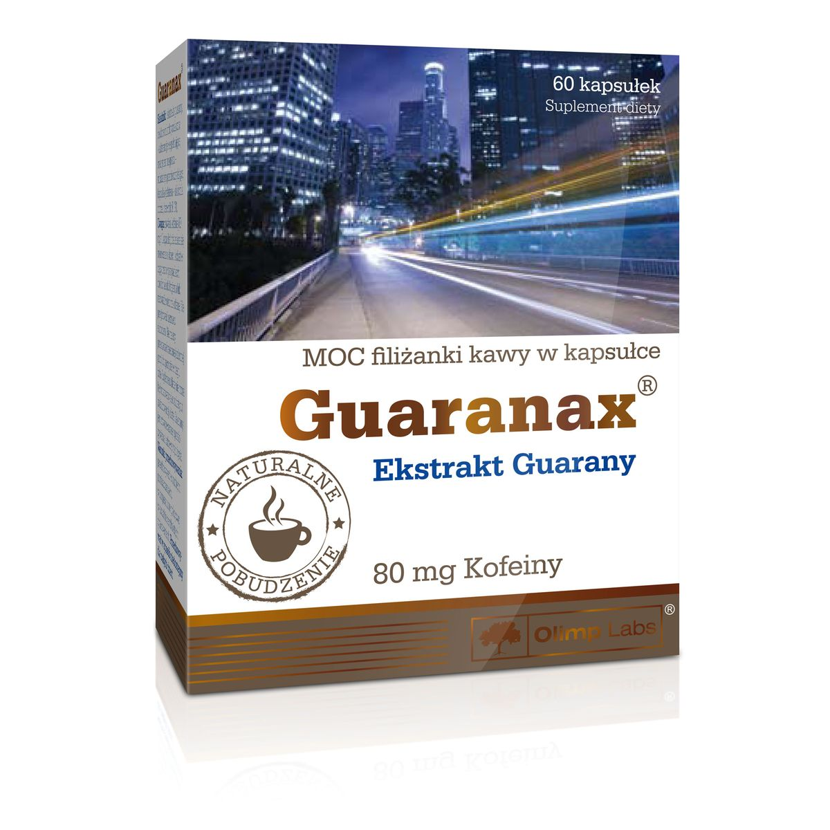 Энергетик Olimp Sport Nutrition  Guaranax , 60 капсул - Энергетики