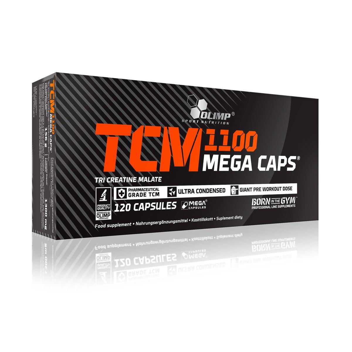 "Креатин Olimp Sport Nutrition ""ТСМ Mega Caps"", 120 капсул"