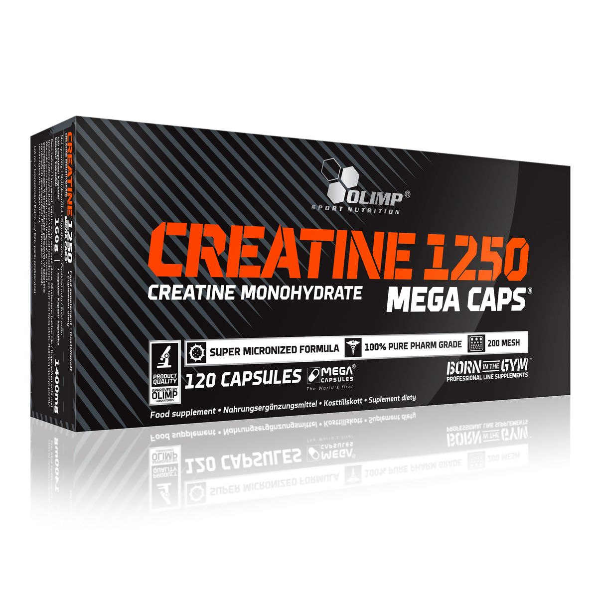 Креатин Olimp Sport Nutrition Mega Caps, 120 капсул креатин olimp creatine xplode ананас 500 г