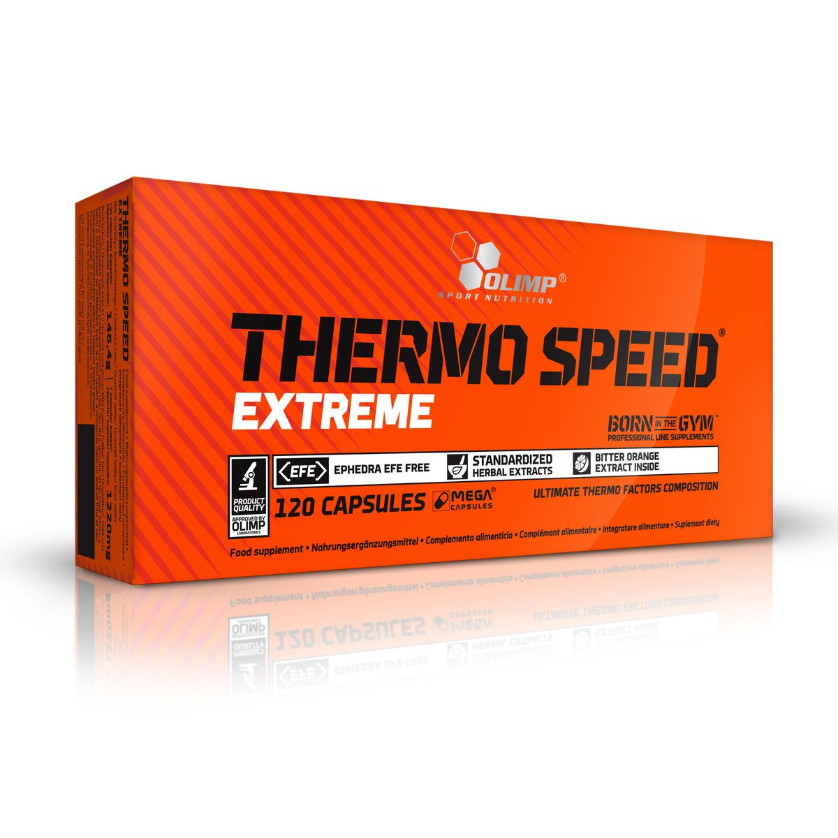 Жиросжигатель Olimp Sport Nutrition Thermo Speed Extreme, 120 капсул протеин olimp sport nutrition provit 80 ваниль 700 г