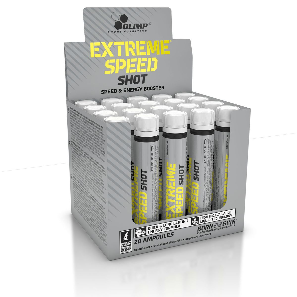 Энергетик Olimp Sport Nutrition  Extreme Speed Shot , 20 х 25 мл - Энергетики