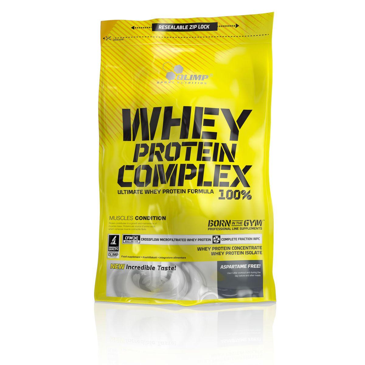 Протеин Olimp Sport Nutrition Whey Protein Complex 100%, ваниль, 0,7 кг протеин olimp sport nutrition provit 80 ваниль 700 г