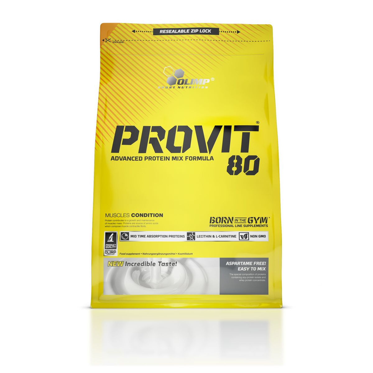 Протеин Olimp Sport Nutrition Provit 80, тирамису, 700 г аргинин olimp sport nutrition aakg 7500 extreme shot вишня 20 х 25 мл