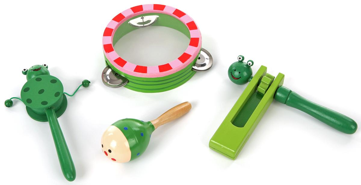 Набор музыкальных инструментов Мир деревянных игрушек, №3 ольга тимофеева сказки о музыкальных инструментах cd rom