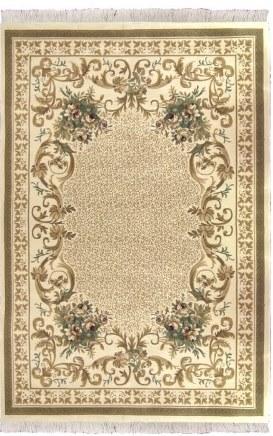 Ковер Oriental Weavers Кастл, цвет: бежевый, 120 х 180 см. 634 J12035Традиционные дизайны из Персии и Ирана на ковре высокой плотности подчеркнут изысканность и строгость любого классического интерьера.