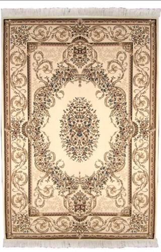 Ковер Oriental Weavers Кастл, цвет: светло-коричневый, 120 х 180 см. 418 W12040Традиционные дизайны из Персии и Ирана на ковре высокой плотности подчеркнут изысканность и строгость любого классического интерьера.