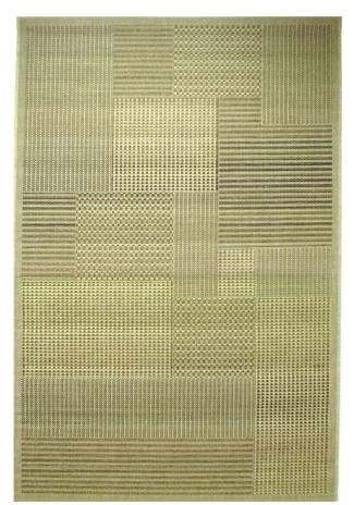 Ковер Oriental Weavers Энжи (Фом), цвет: светло-коричневый, 120 х 180 см. 881 D16797Ковер-циновка на резиновой основе - это практичное и современное решение не только для прихожих, но и веранд.