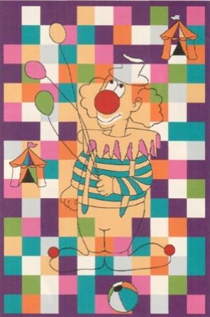Ковер Oriental Weavers Фанки Mim, цвет: фиолетовый, 100 х 150 см16976Яркий и стильный ковер Oriental Weavers Фанки Mim отлично дополнит интерьер детской комнаты. Благодаря высокому качеству, ковер прослужит долгое время.