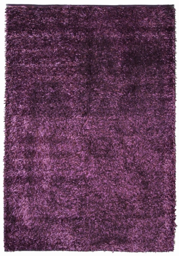 Коврик прикроватный Oriental Weavers Беллини, цвет: фиолетовый, 70 см х 130 см. 17384
