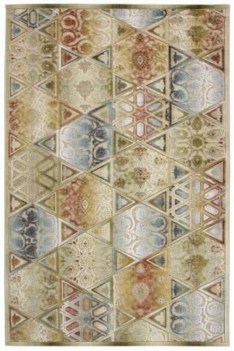 Ковер Oriental Weavers Симфония, цвет: коричневый, 120 х 180 см. 11 X18570Современный дизайн в необычной цветовой гамме, сочетающийся в ковре бренда Oriental Weavers,подойдет как для креативного, так и для строгого интерьера.