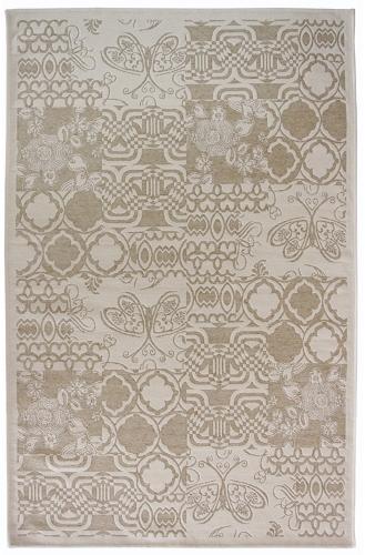 Коврик прикроватный Oriental Weavers Дрим, цвет: серо-коричневый, 80 х 165 см. 3 W18585Оригинальный шерстяной гобелен в стиле пэтч-ворк удовлетворит самый изысканный вкус. Ковер от известной Египетской фабрики Oriental Weavers прекрасно подойдет для современных и классических интерьеров.