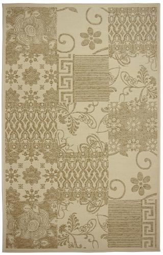 Коврик прикроватный Oriental Weavers Дрим, цвет: оливковый, 80 х 165 см. 5 W18886Оригинальный шерстяной гобелен в стиле пэтч-ворк удовлетворит самый изысканный вкус. Ковер от известной Египетской фабрики Oriental Weavers прекрасно подойдет для современных и классических интерьеров.