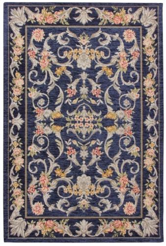 Коврик прикроватный Oriental Weavers Санлайт, цвет: темно-синий, 75 х 120 см. 225 B