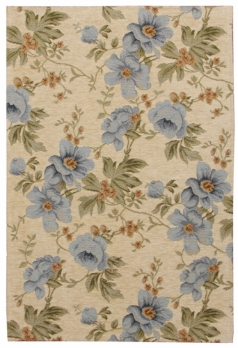 Коврик прикроватный Oriental Weavers Санлайт, цвет: светло-коричневый, 75 х 120 см. 306 L ковер oriental weavers варшава цвет светло коричневый 80 х 140 см 17229