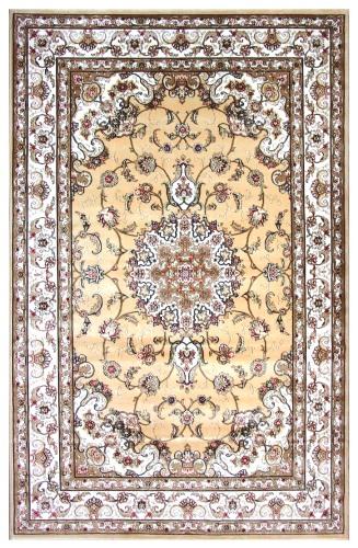 Ковер Oriental Weavers Мумбай, цвет: бежевый, 115 х 180 см. C002 ABY AA21194Высокоплотный ковер из вискозы с традиционным классическим дизайном станет отличным дополнением интерьера и придаст ему неповторимый классический оттенок.