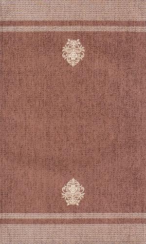 Коврик прикроватный Oriental Weavers Милано, цвет: коричневый, 55 см х 85 см. 44 Х