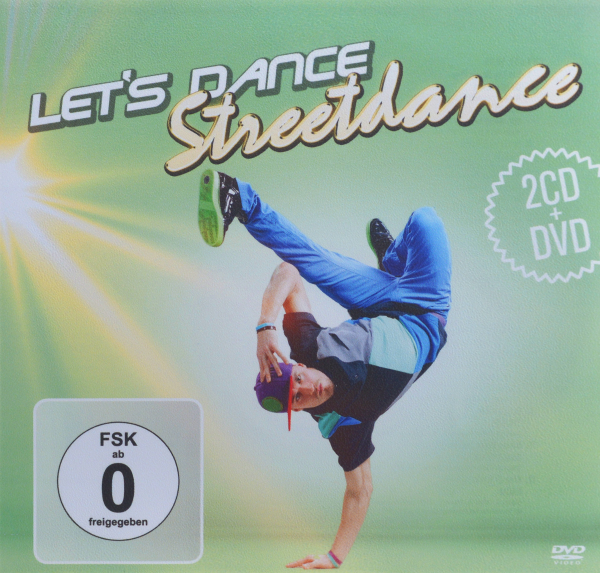 Let's Dance. Streetdance (2 CD + DVD) ботинки der spur der spur de034amwiz42