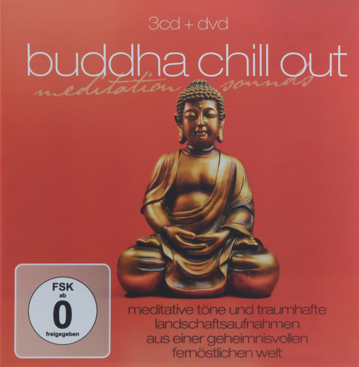 Buddha Chill Out. Meditation Sounds (3 CD + DVD)