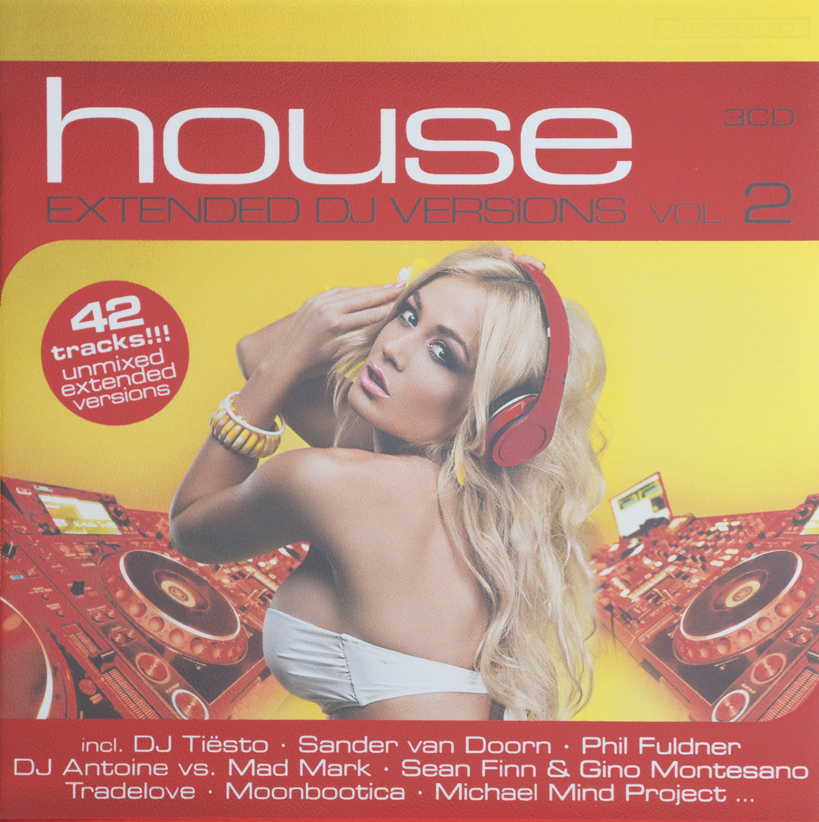 House. Extended DJ Versions. Vol. 2 (3 CD)