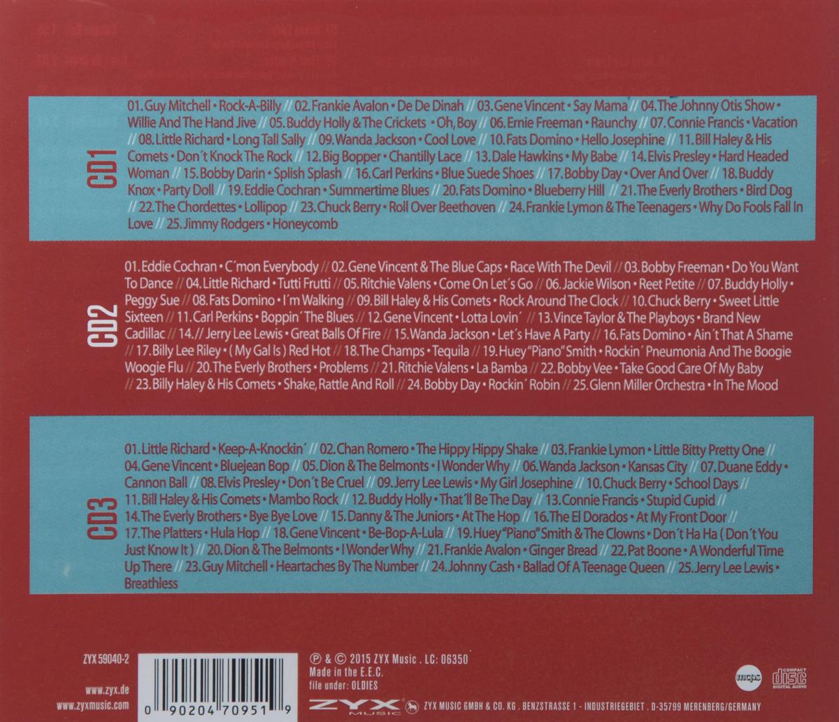 Rock'N'Roll Hits (3 CD) Волтэкс-инвест,ZYX Music