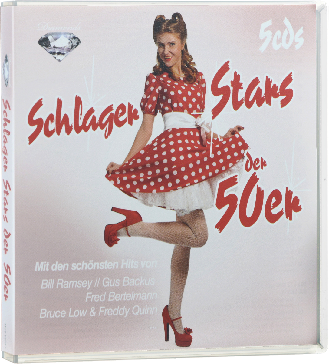 Diamonds. Schlager Stars Der 50er (5 CD)