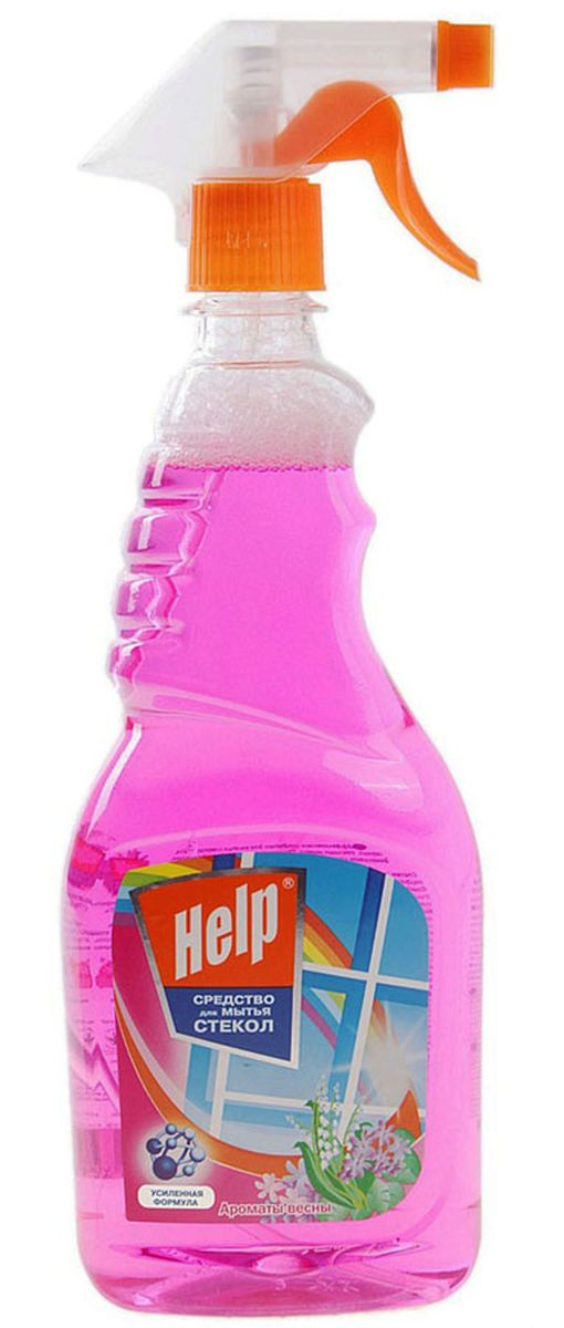 Средство для мытья стекол Help Аромат весны, 750 мл средство для мытья стекол help лимон 500 мл