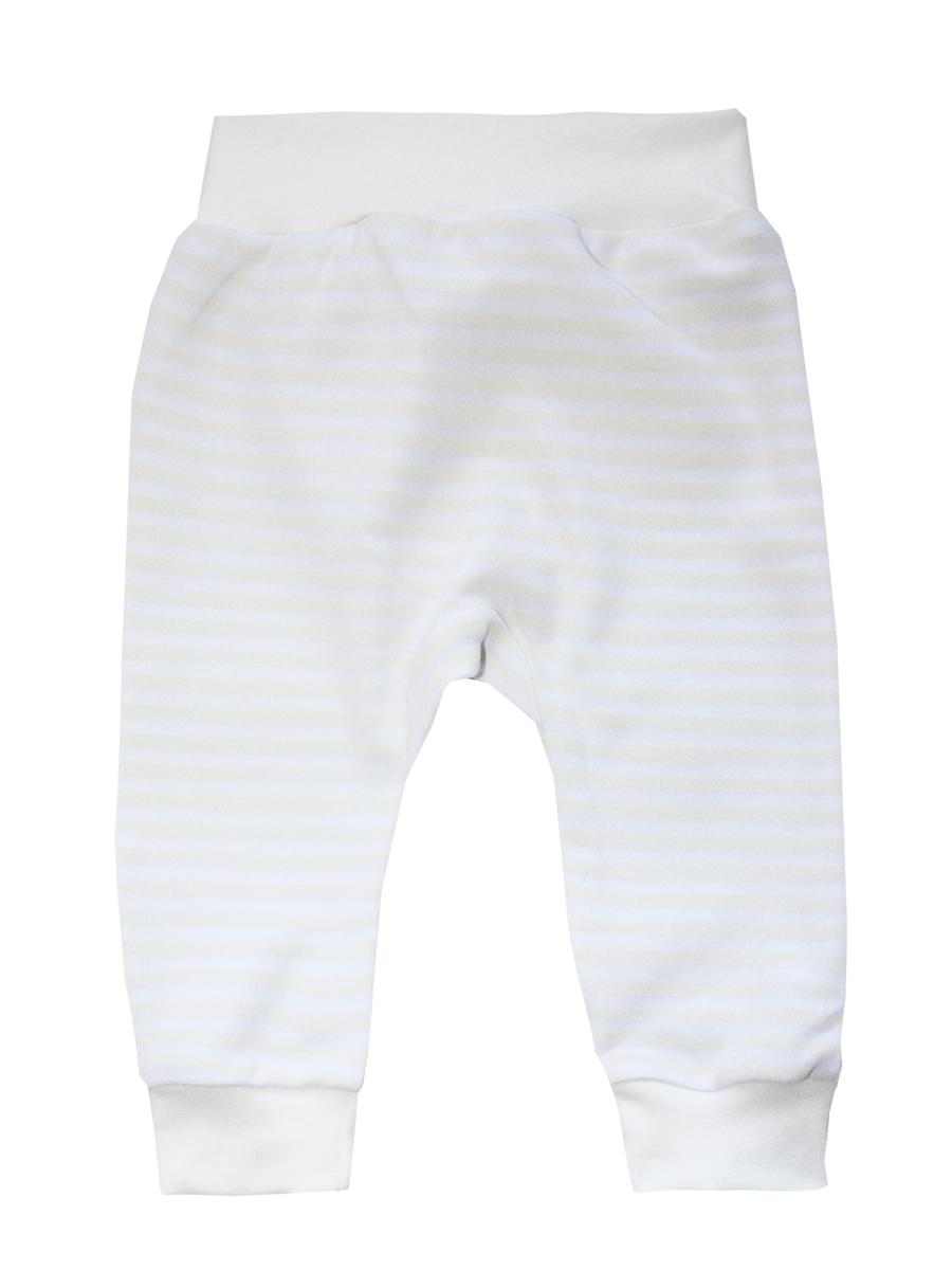 Штанишки детские КотМарКот, цвет: белый, кремовый. 5867. Размер 74, 6-9 месяцев брюки котмаркот штанишки сердечко