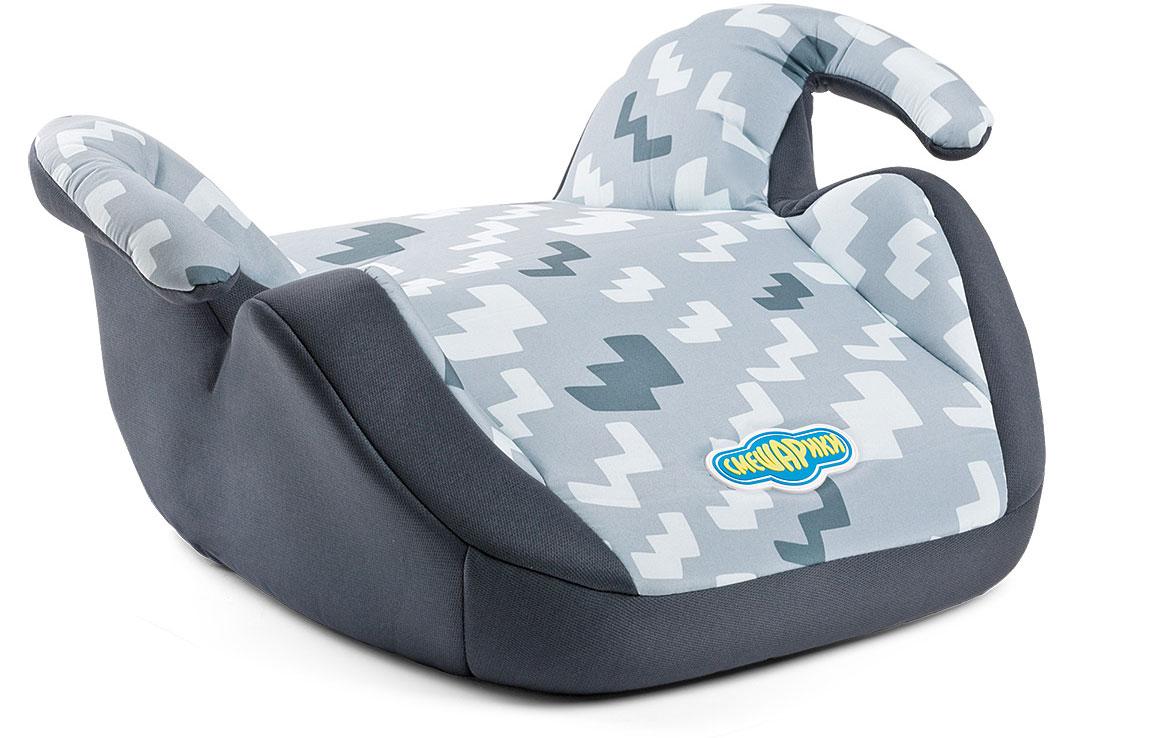 Детское кресло-бустер Autoprofi Смешарики Пин, 15 до 36 кг.SM/DK-550 PinДетское автокресло-бустер для детей от 15 до 36 кг. Группа 2/3. Бустер комплектуется съемным чехлом. Универсальное крепление рассчитано на трехточечный штатный ремень безопасности автомобиля.Увеличенный размер сиденья и суженые подлокотники позволят ребенку комфортно себя чувствовать даже в плотной зимней одежде.Бустер оформлен в цветах пингвина Пина — практичные черные и серые оттенки. Модель соответствует ГОСТ Р 41.44-2006 (Россия), ECE R44/04 (Евросоюз).