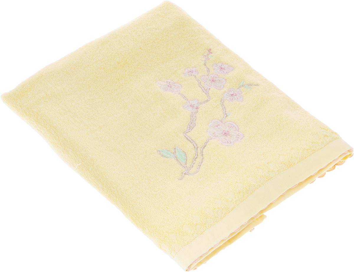 Полотенце Soavita Ханами, 70 х 140 см полотенце махровое soavita df светлая клетка цвет розовый 70 х 140 см