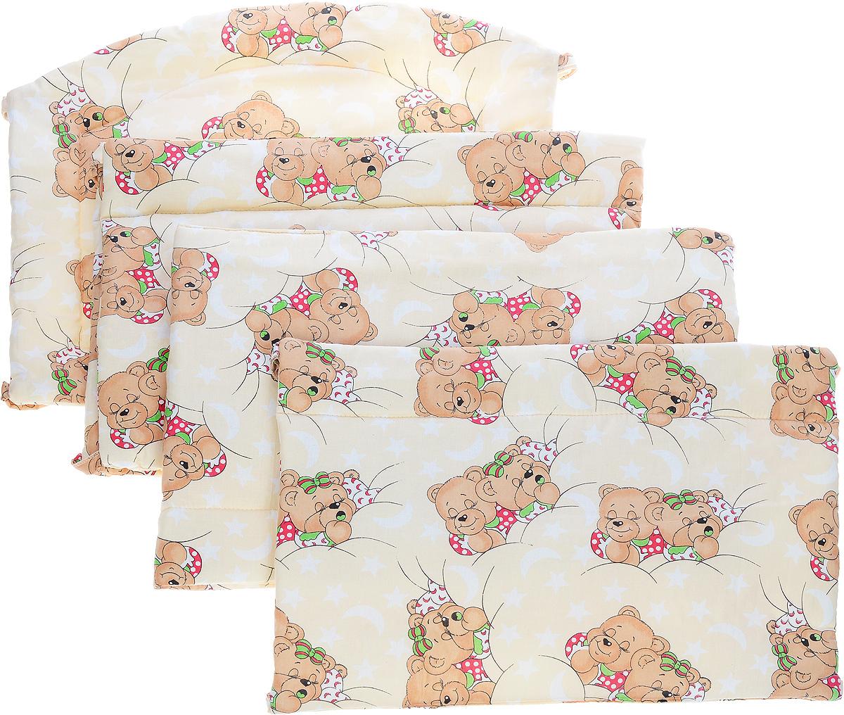 Фея Борт комбинированный Спящие мишки цвет бежевый - Детская комната