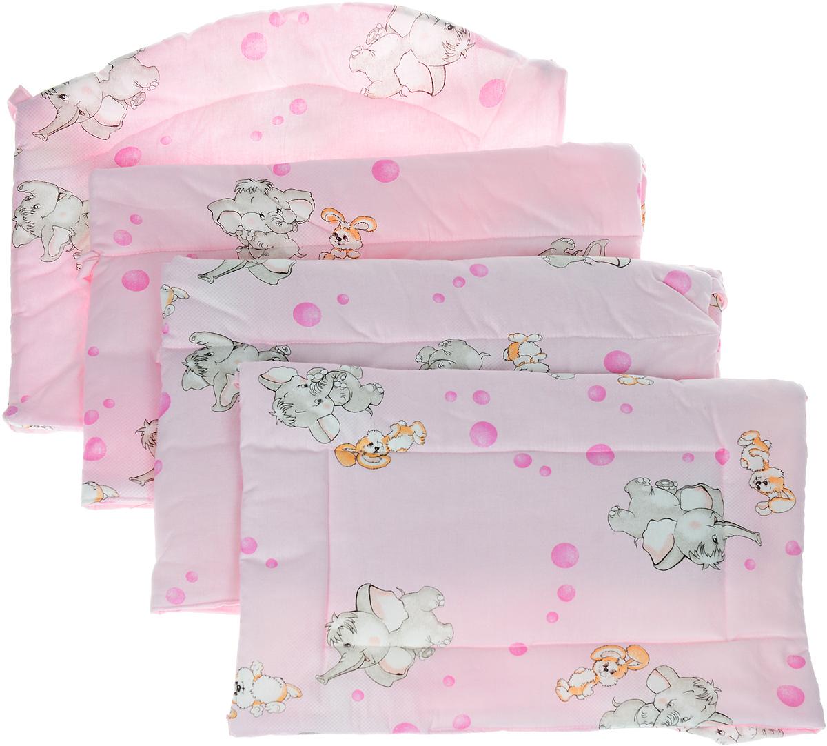 Фея Борт комбинированный Слоненок и кролик цвет розовый - Детская комната