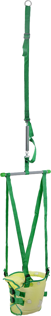 Фея Тренажер Прыгунки 2 в 1 цвет салатовый зеленый - Ходунки, прыгунки, качалки