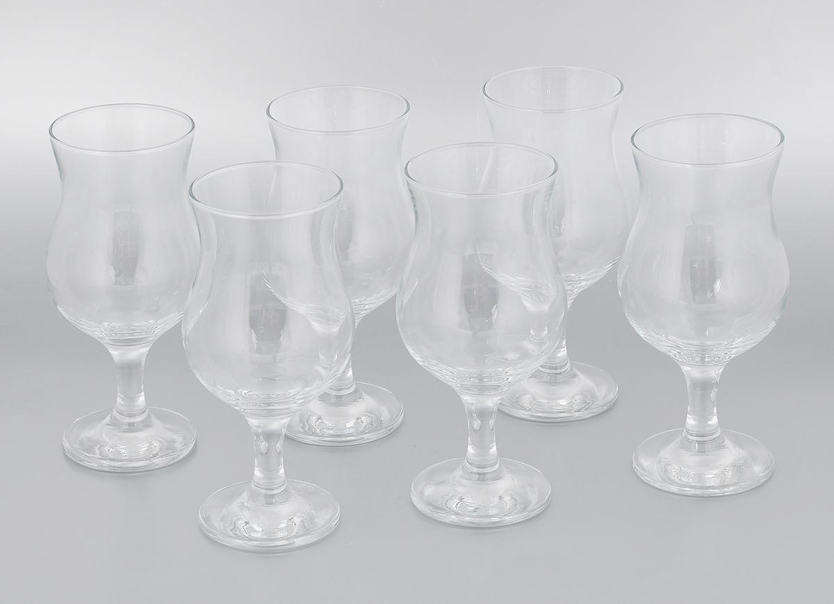 Набор бокалов Pasabahce Bistro, 380 мл, 6 шт набор бокалов для бренди коралл 40600 q8105 400 анжела