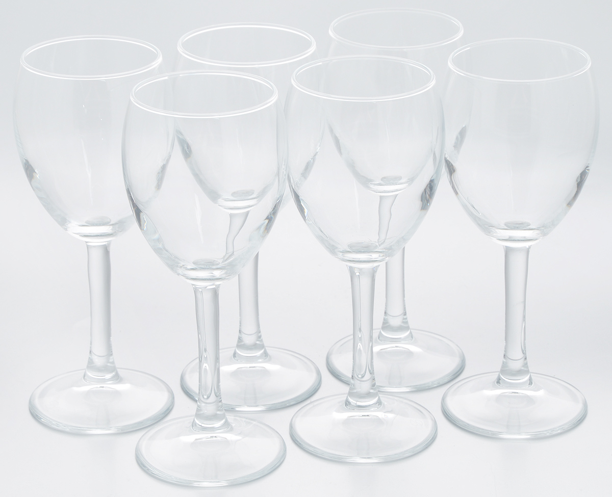Набор бокалов Pasabahce Imperial Plus, 240 мл, 6 шт44799BНабор Pasabahce Imperial Plus состоит из двух бокалов, выполненных из прочного натрий-кальций-силикатного стекла.Бокалы предназначены для подачи вина или других напитков. Они сочетают в себе элегантный дизайн и функциональность. Набор бокалов Pasabahce Imperial Plus прекрасно оформит праздничный стол и создаст приятную атмосферу за романтическим ужином. Такой набор также станет хорошим подарком к любому случаю. Можно мыть в посудомоечной машине.Высота бокала: 17,5 см.Диаметр бокала (по верхнему краю): 6 см.