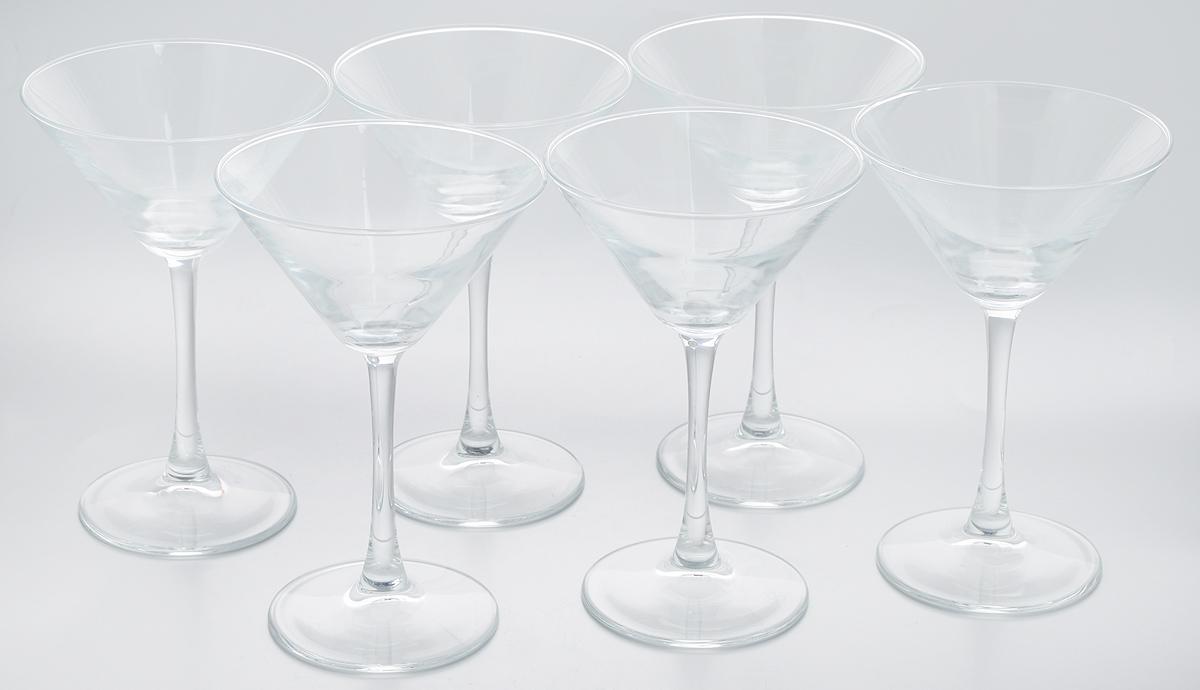 Набор бокалов для мартини Pasabahce Enoteca, 215 мл, 6 шт набор бокалов для бренди коралл 40600 q8105 400 анжела