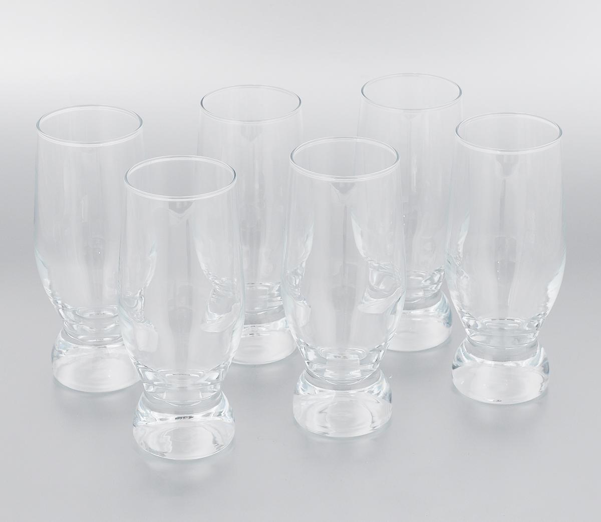 Набор стаканов Pasabahce Aquatic, 265 мл, 6 шт42978/Набор Pasabahce Aquatic состоит из 6 стаканов, выполненных из прочного натрий-кальций-силикатного стекла, которое выдерживает нагрев до 70°С. Стильный лаконичный дизайн, роскошный внешний вид и несравненное качество сделают их великолепным украшением стола. Подходят для мытья в посудомоечной машине. Можно использовать в микроволновой печи и для хранения пищи в холодильнике. Диаметр (по верхнему краю): 5,5 см. Высота стакана: 15 см.