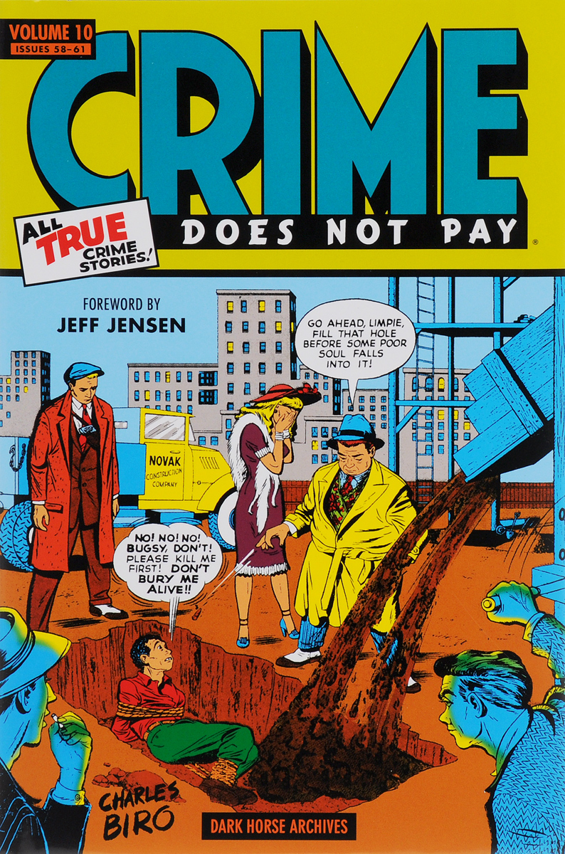 CRIME DOES NOT PAY VOL. 10