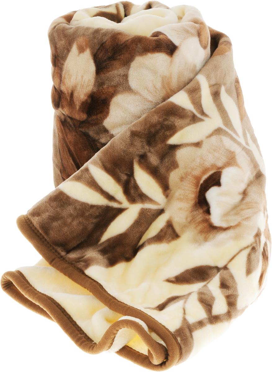 Плед Tamerlan, цвет: бежевый, коричневый, 160 х 210 см. 6845568455_бежевыйПлед Tamerlan - это идеальное решение для вашего интерьера. Изделие выполнено из полиэстера.Благодаря беспрецедентной стойкости и ровности красок, изделие не выгорает на солнце и остается первозданно ярким в течение продолжительного времени. Плед теплый, нежный, подкупающий не только высокими потребительскими характеристиками, но и уникальным, оригинальным внешним видом.Плед - это такой подарок, который будет всегда актуален, особенно для ваших родных и близких, ведь вы дарите им частичку своего тепла.Рекомендации по уходу:Ручная стирка при температуре 30°С.Не рекомендуется машинная стирка, отбеливание и глажка.