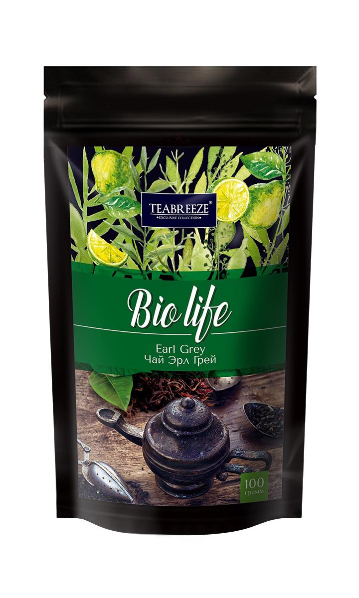 Teabreeze Эрл грей листовой ароматизированный чай, 100 г mabroc эрл грей чай черный листовой 100 г