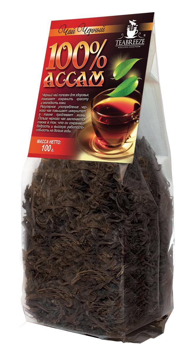 Teabreeze Ассам крупнолистовой черный байховый чай, 100 г 2005 чай ассам хармутти оптом
