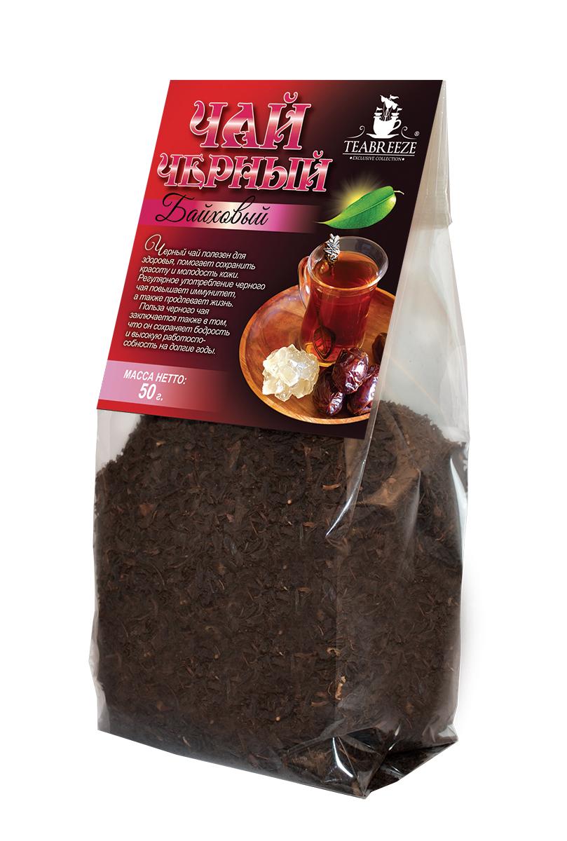 Teabreeze крупнолистовой черный байховый чай, 50 гTB 1701-50Teabreeze Байховый - чай из крупных ломанных листьев. Настой отличается красно-оранжевым цветом. Рекомендуется настаивать до 5 минут и употреблять небольшими глотками с кусочками колотого сахара (сахарные головы) или с традиционными восточными сладостями. Часто в стакан кладут кусочек имбиря или корицы.Всё о чае: сорта, факты, советы по выбору и употреблению. Статья OZON Гид