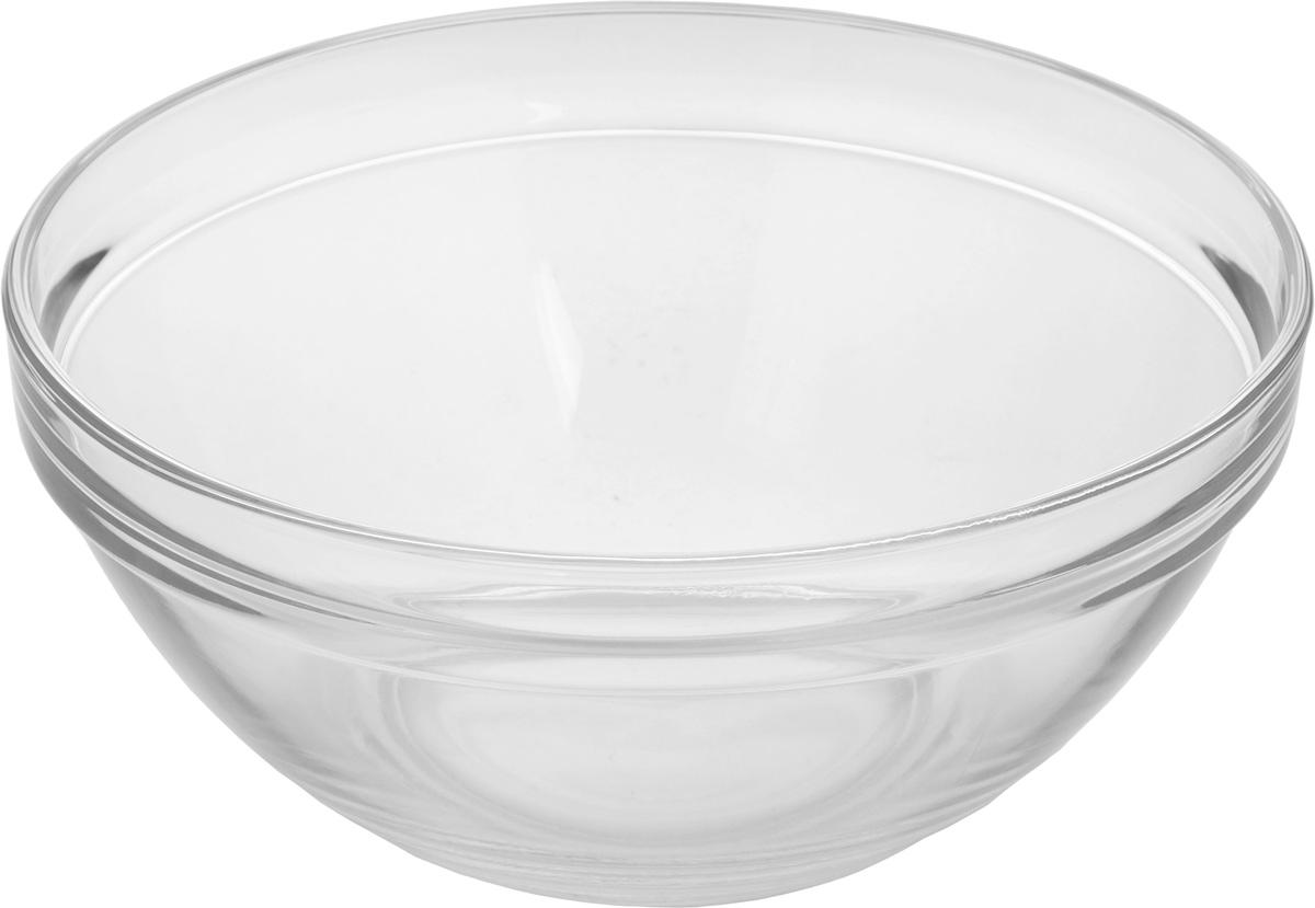 Салатник Pasabahce Chefs, диаметр 23 см53583BСалатник Pasabahce Chefs, выполненный из прозрачного высококачественного натрий-кальций-силикатного стекла, предназначен для красивой сервировки различных блюд. Салатник сочетает в себе лаконичный дизайн с максимальной функциональностью. Оригинальность оформления придется по вкусу и ценителям классики, и тем, кто предпочитает утонченность и изящность.Можно использовать в холодильной камере, микроволновой печи и мыть в посудомоечной машине. Диаметр салатника: 23 см.Высота салатника: 10 см.