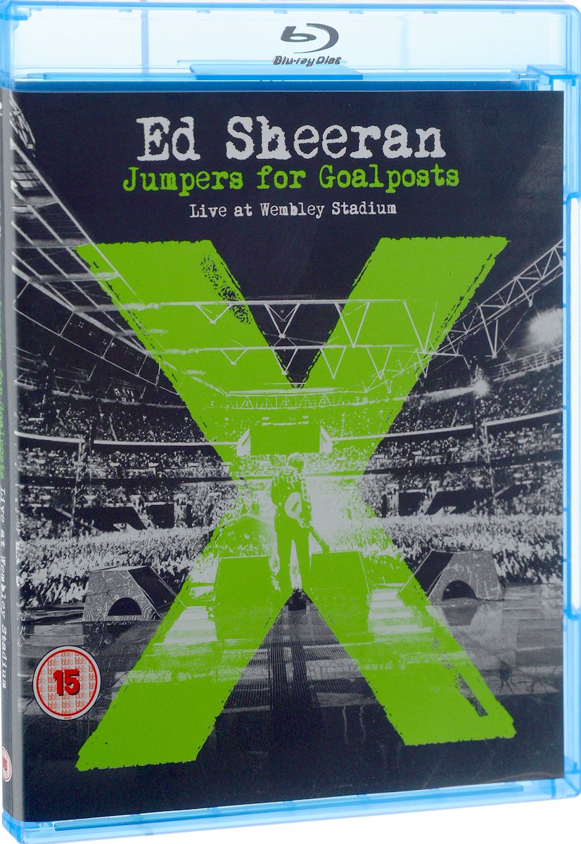 Ed Sheeran: Jumpers For Goalposts: Live At Wembley Stadium (Blu-ray) blu ray диск joel billy live at shea stadium 1 blu ray