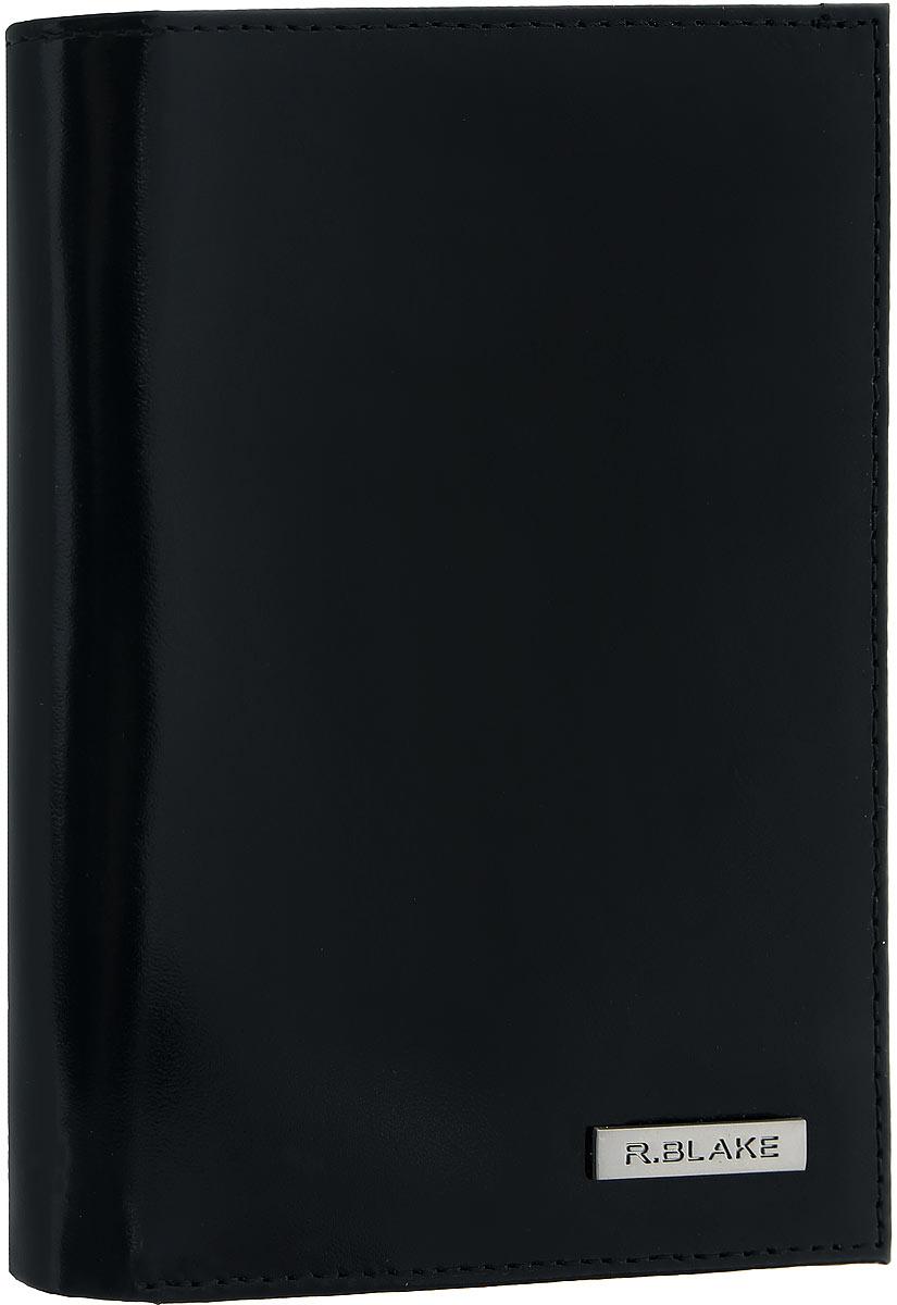 Купить Обложка для автодокументов мужская R.Blake Cover Money Gloss , цвет: черный. GCVY00-000000-A0601O-K101