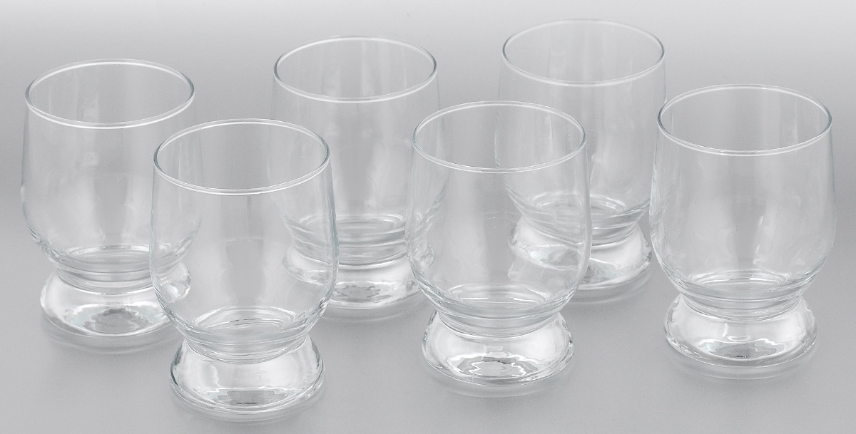 Набор стаканов Pasabahce Aquatic, 310 мл, 6 шт42975/Набор Pasabahce Aquatic состоит из шести стаканов, выполненных из закаленного натрий-кальций-силикатного стекла. Стаканы предназначены для подачи сока, компота и других напитков. Стаканы сочетают в себе элегантный дизайн и функциональность.Набор стаканов Pasabahce Aquatic идеально подойдет для сервировки стола и станет отличным подарком к любому празднику.Можно использовать в морозильной камере и микроволновой печи. Можно мыть в посудомоечной машине. Диаметр стакана (по верхнему краю): 7 см. Высота стакана: 10,5 см.