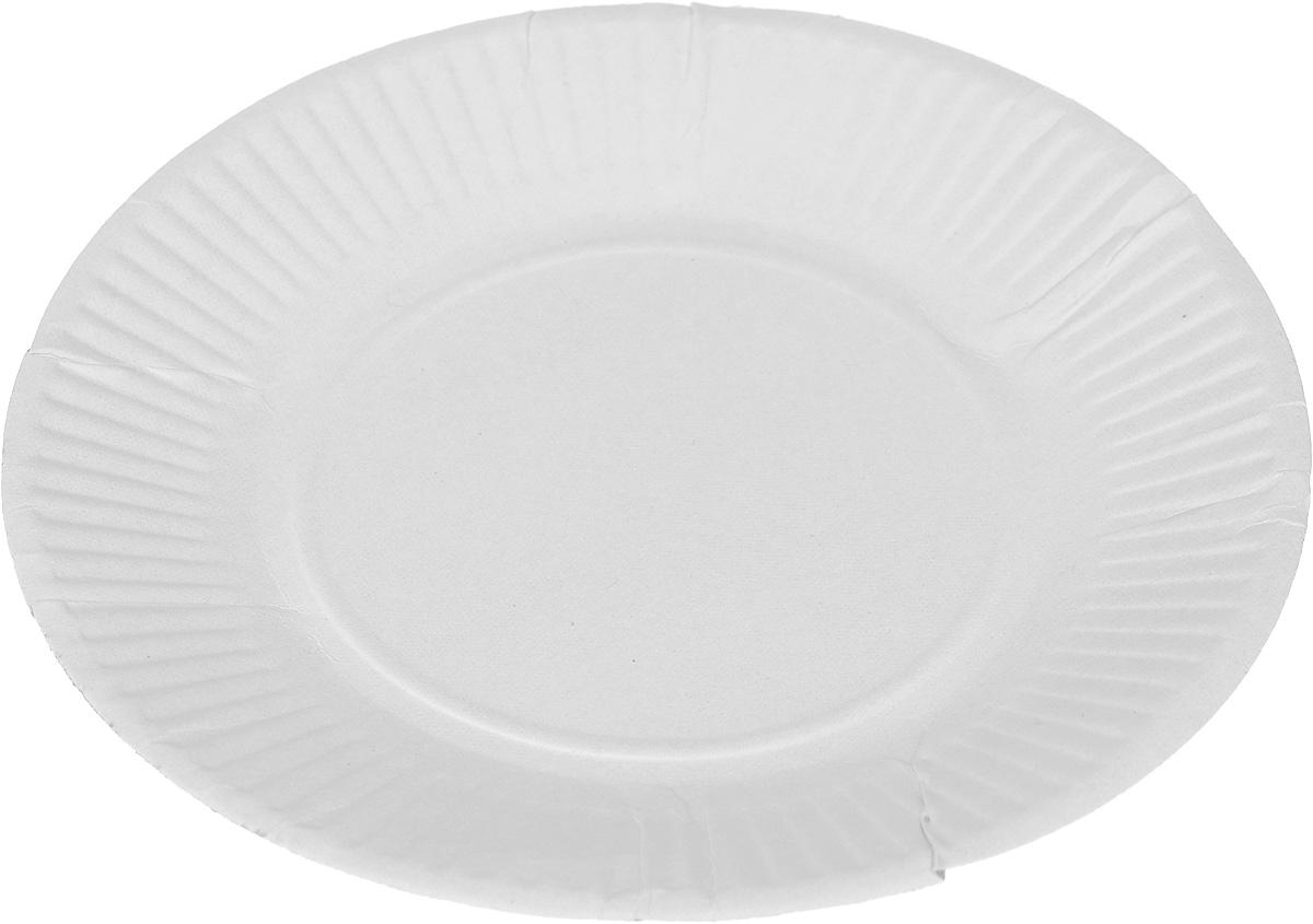 Набор одноразовых тарелок Мистерия, диаметр 17 см, 100 шт набор одноразовых ножей мистерия компакт 100 шт