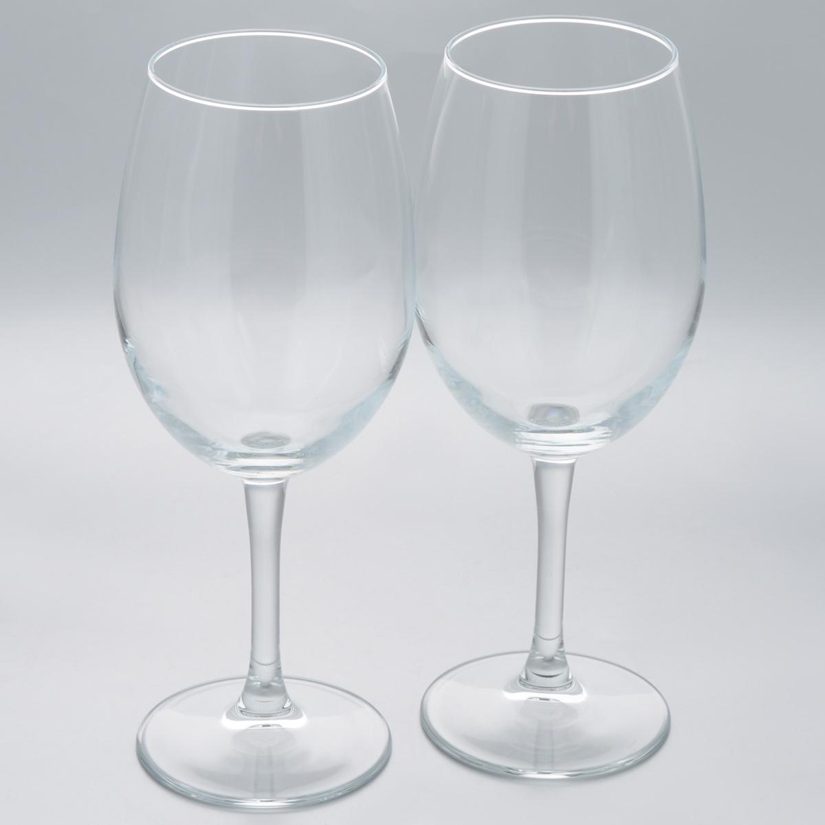 Набор бокалов Pasabahce Classique, 630 мл, 2 шт440153BНабор Pasabahce Classique состоит из двух бокалов, выполненных из прочного натрий-кальций-силикатного стекла.Бокалы предназначены для подачи вина или других напитков. Они сочетают в себеэлегантный дизайн и функциональность.Набор бокалов Pasabahce Classique прекрасно оформит праздничный стол и создаст приятнуюатмосферу за романтическим ужином. Такой набор также станет хорошим подарком к любомуслучаю.Можно мыть в посудомоечной машине. Высота бокала: 24 см. Диаметр бокала (по верхнему краю): 7 см.