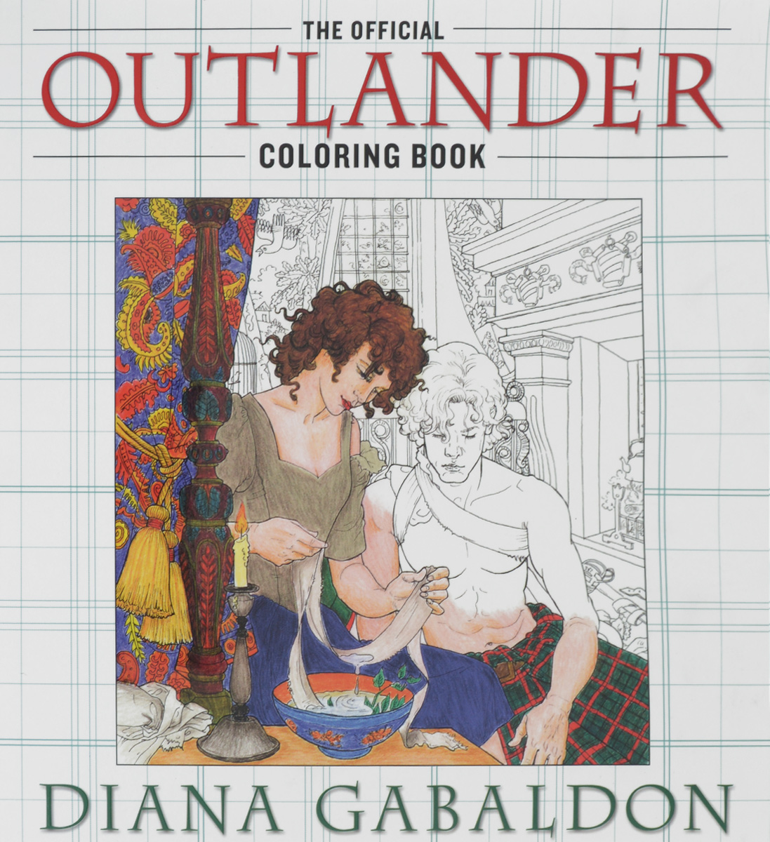 The Official Outlander: Coloring Book bella italia a coloring book tour of the world capital of romance